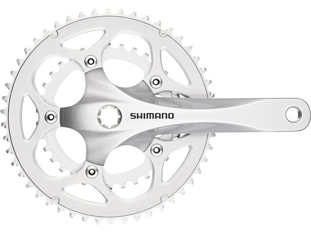 Shimano FC-R345 Set de Biela 50/34 2x9 velocidades, silver